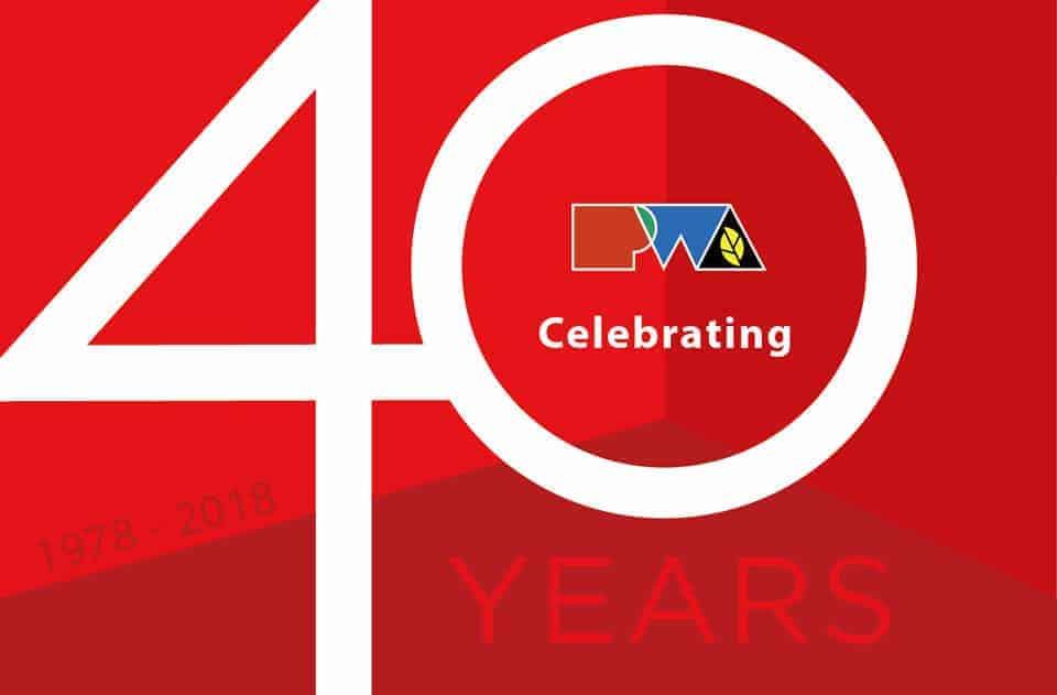 PWA Celebrates 40 Years.