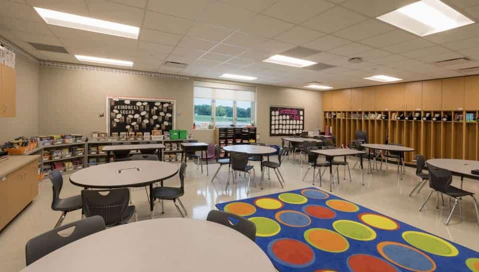 Cedar Ridge Elementary School Classroom, Columbia Public Schools