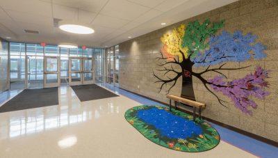 Cedar Ridge Elementary School Entryway, Columbia Public Schools