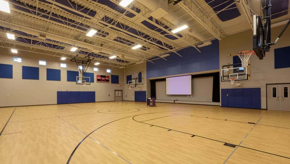 Cedar Ridge Elementary School Gym, Columbia Public Schools