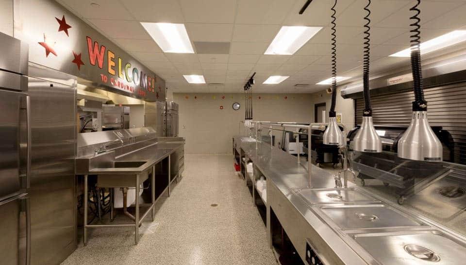 Cedar Ridge Elementary School Kitchen, Columbia Public Schools