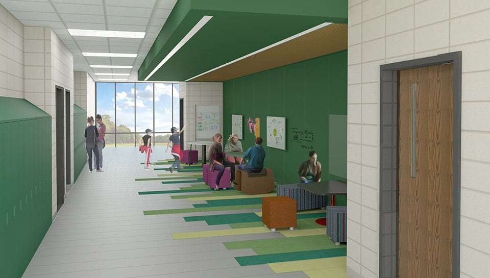 Middle School-Interior-Collaboration-Space