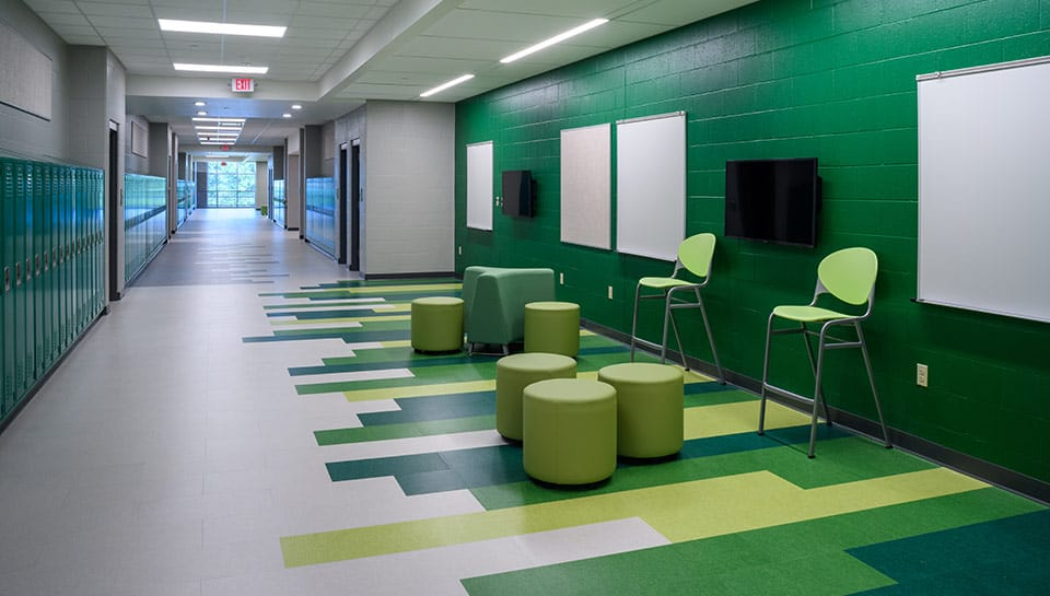 CPS MS Interior Collaboration Space